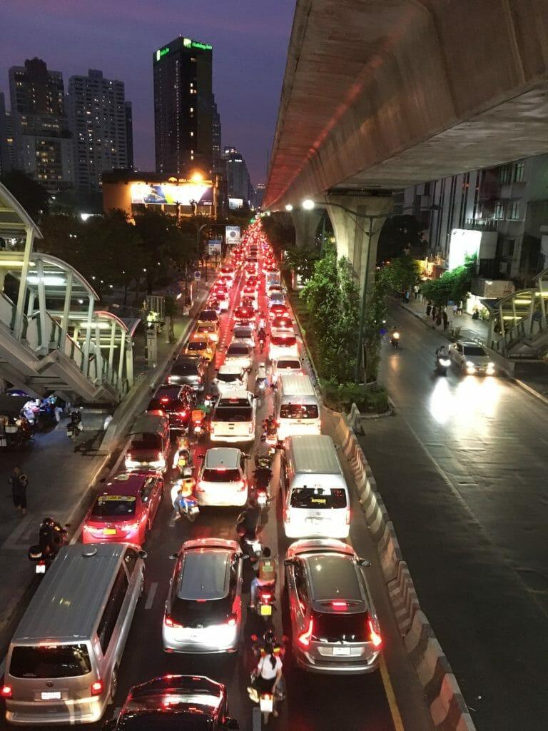 バンコク 渋滞