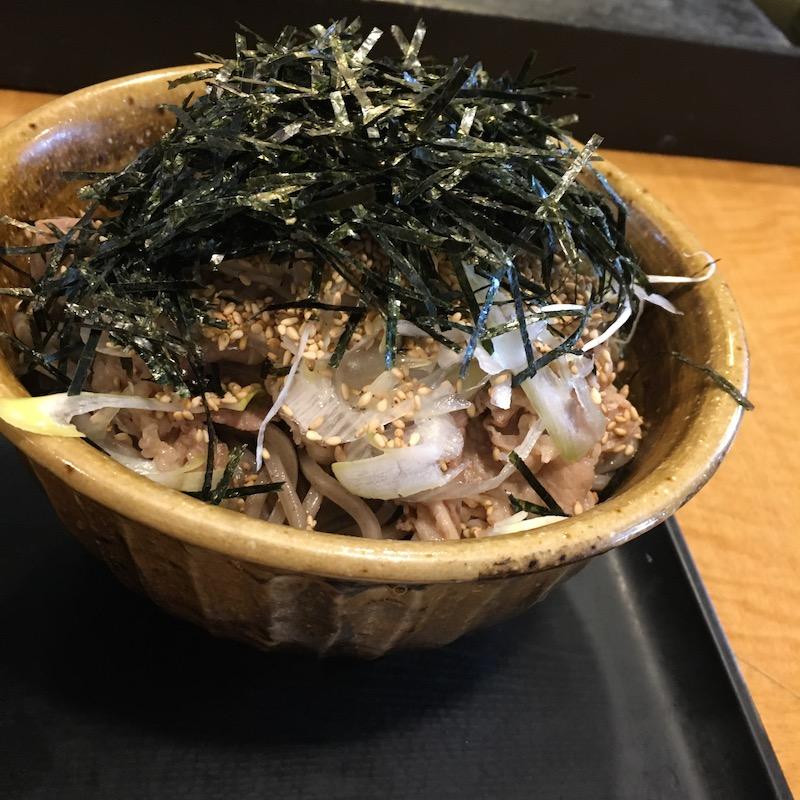 肉そば(大)
