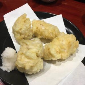 白子天ぷら