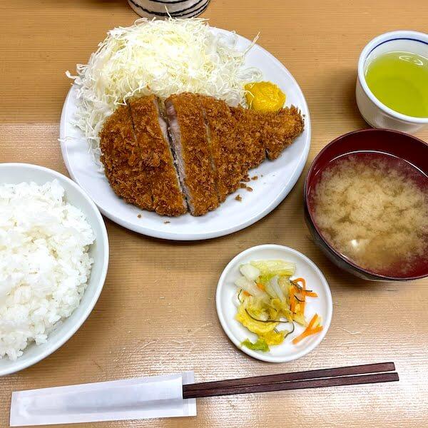 上ロースカツ定食@1,200円