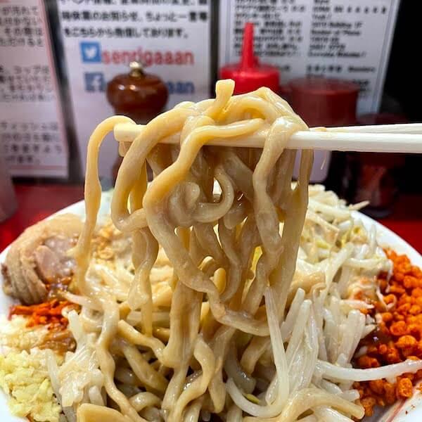 ニンニクザンマイ 麺リフト