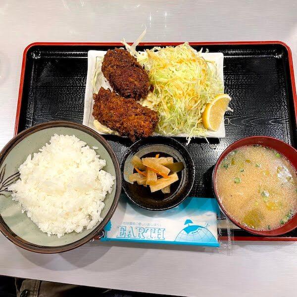 カキフライ定食@1,050円