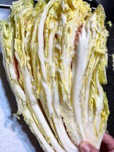 白菜とベーコンのミルフィーユ