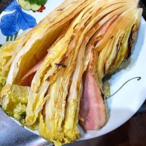 白菜ベーコン焼き