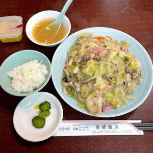 長崎飯店渋谷店 皿うどん(軟麺)